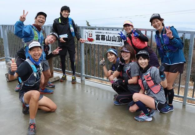 Photos: 新城方面からのトレラングループが久しぶりに山で会いました。~