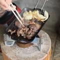 Photos: H)さん今朝の朝食は熊の肉