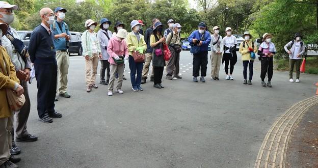 浜北森林公園自然観察ケーブルテレビウィンデイ撮影中