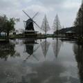 池と風車_公園 D7983