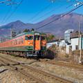 Photos: 湘南色と浅間山(再)