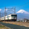 踊り子と富士山