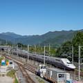 Photos: 谷川岳と新幹線