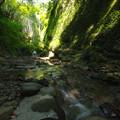 水が育む峡谷