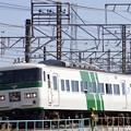 Photos: 我孫子始発185系踊り子号最終運用