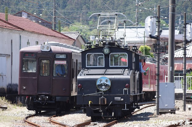 上信電鉄デキ(下仁田駅)170505