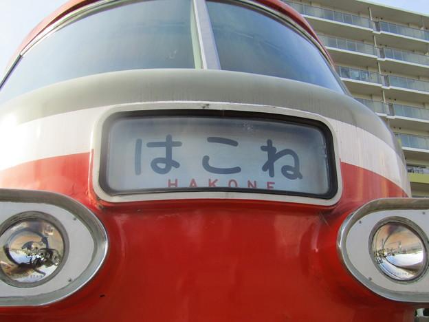 12103796 210327_開成駅前 小田急3000形SE「ロンちゃん」(はこね号)
