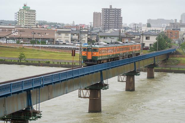 越後線 関屋駅~青山駅