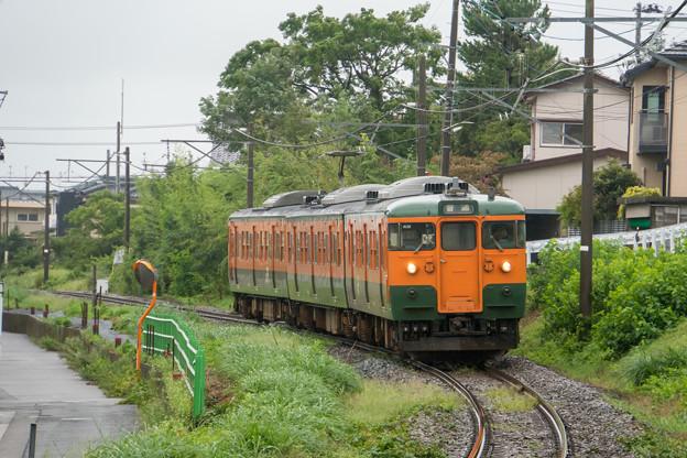 越後線 青山駅