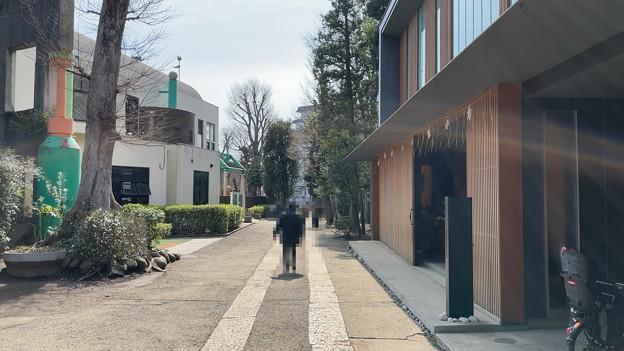 志村城(城山熊野神社。板橋区)参道