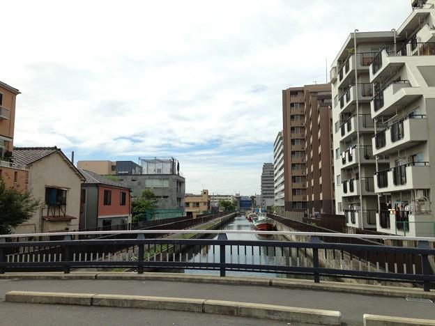 西洲崎橋上(江東区)南