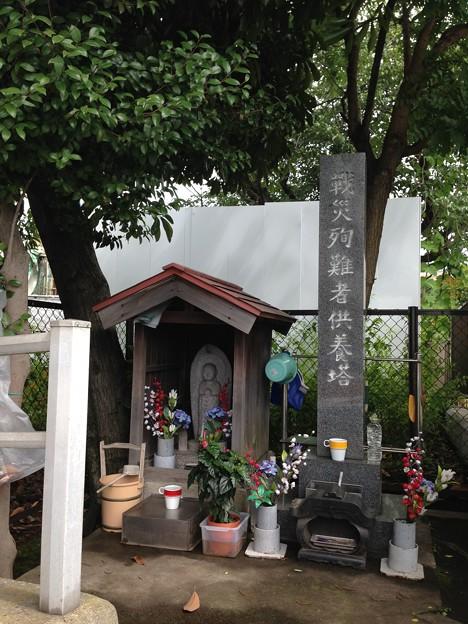 西洲崎橋西詰北側(江東区)戦災殉難者供養塔