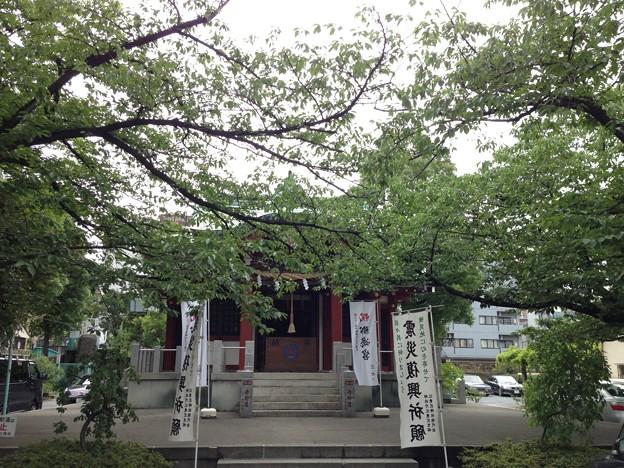 洲崎神社(江東区)拝殿