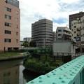 弁天橋上より北東(江東区)大横川・沢海橋
