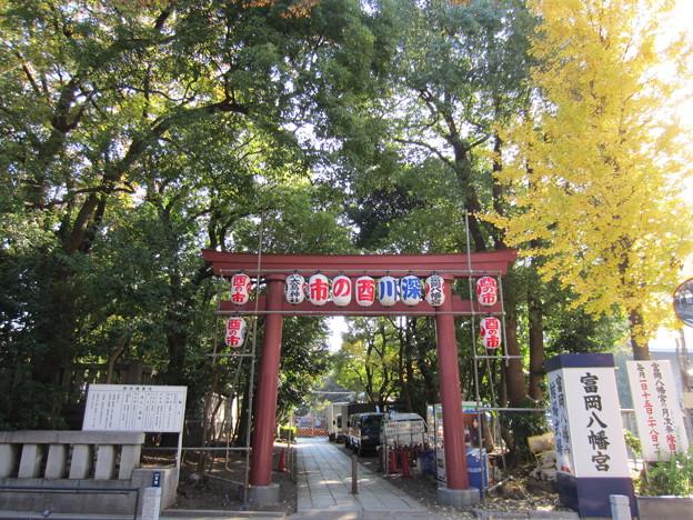 富岡八幡宮(江東区)西南鳥居