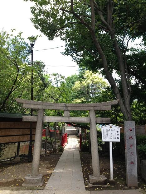 富岡八幡宮(江東区)七渡弁天社