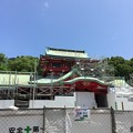 富岡八幡宮(江東区)社殿……