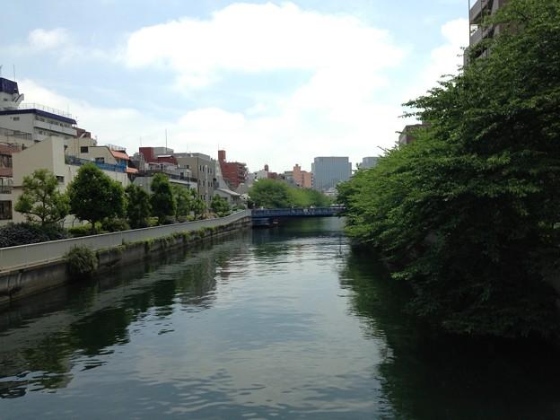 黒船橋上より東(江東区)目前 黒船橋往時架橋位置