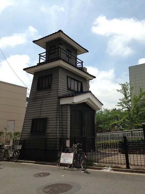 黒船橋北詰東側 復元火の見櫓(江東区)