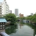 尾張殿下屋敷跡(江東区)黒船橋上より西