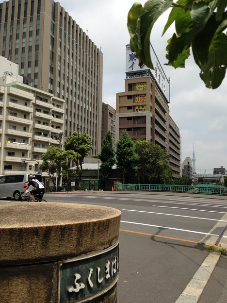 13.06.17.永代通り 福島橋東詰南側(江東区)