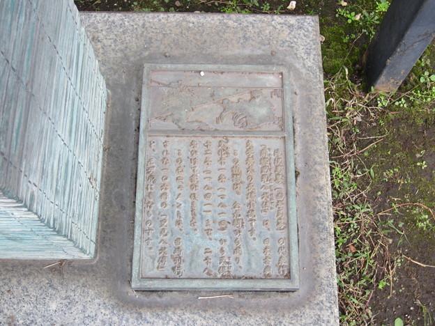 滝沢馬琴誕生地(江東区平野)