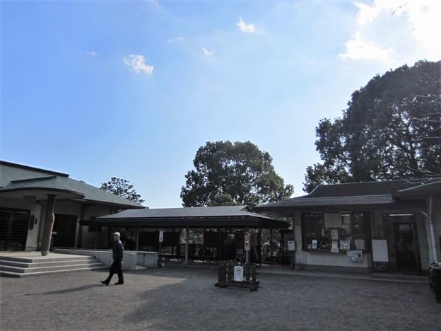 清澄庭園北西入口 大正記念館(江東区)久世大和守下屋敷跡