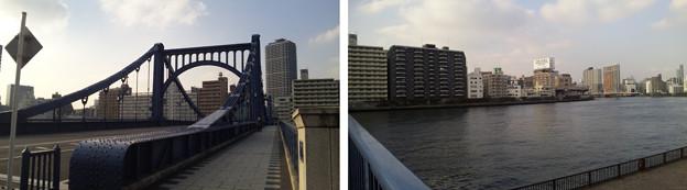 清洲橋西詰北側(江東区)