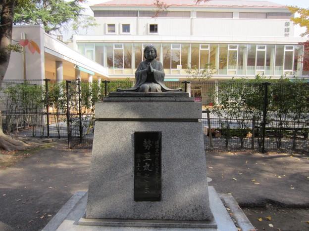 霊巖寺(江東区白河)勢至丸像
