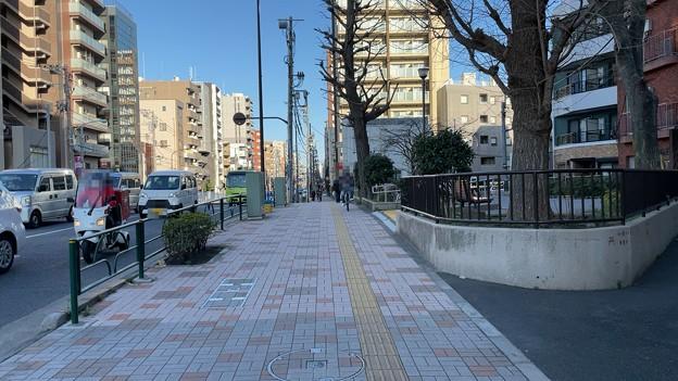 五間堀 伊予橋跡 西詰(江東区)