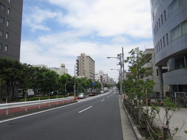土屋采女正下屋敷跡(江東区)三つ目通り 大富橋北詰東側