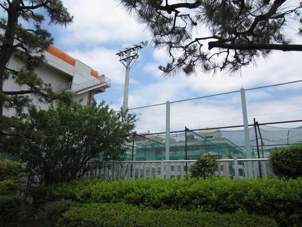 土屋求馬上屋敷跡(江東区森下)都立墨田工業高校