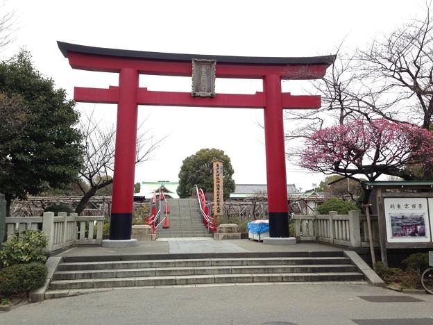 亀戸天神社(江東区亀戸)鳥居
