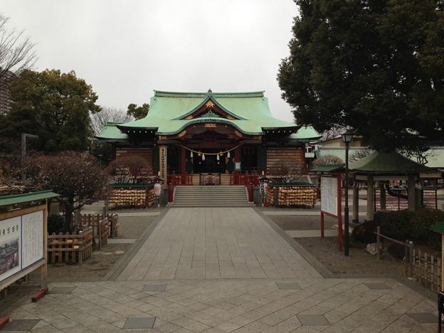 亀戸天神社(江東区亀戸)太鼓橋 女橋より