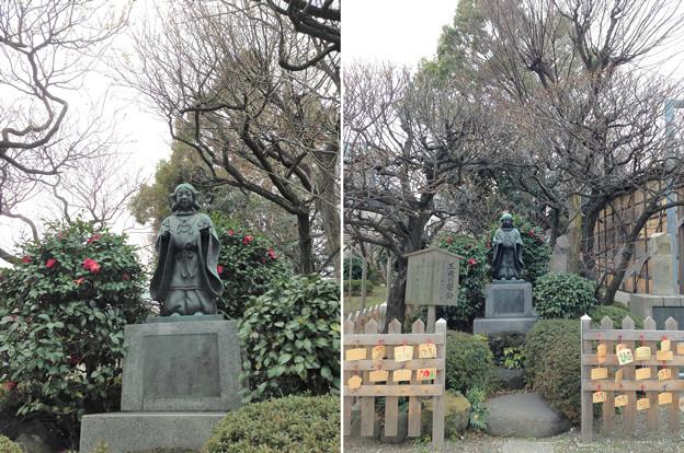 亀戸天神社(江東区亀戸)五歳の菅公像