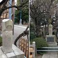 亀戸天神社(江東区亀戸)「鷽」碑
