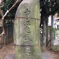 亀戸天神社(江東区亀戸)中江兆民御翁之碑