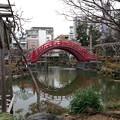 亀戸天神社(江東区亀戸)太鼓橋 男橋