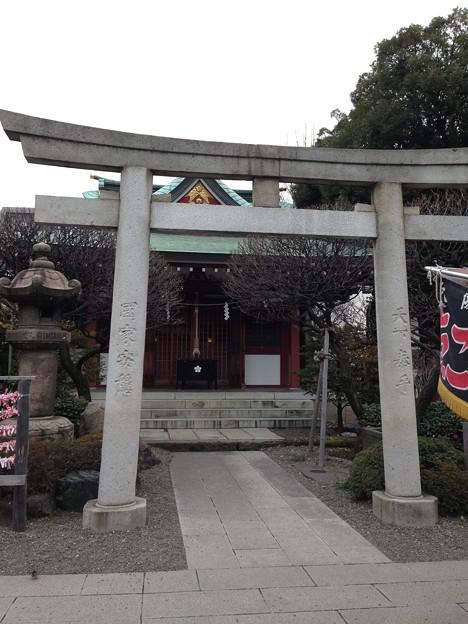 亀戸天神社(江東区亀戸)御嶽神社