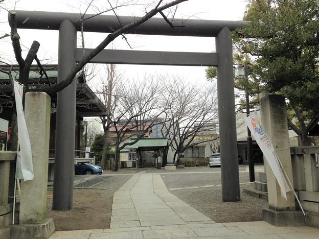 亀戸香取神社(江東区)東鳥居