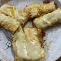 Photos: 湯葉餃子――オリーブオイル・チーズ