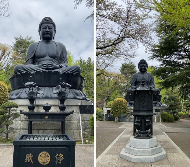 乗蓮寺(板橋区)東京大仏