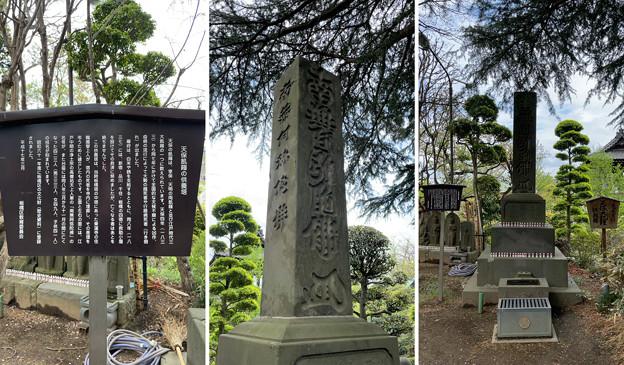 乗蓮寺(板橋区)天保飢饉供養塔