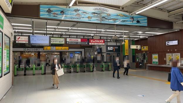 JR藤沢駅改札内(神奈川駅)