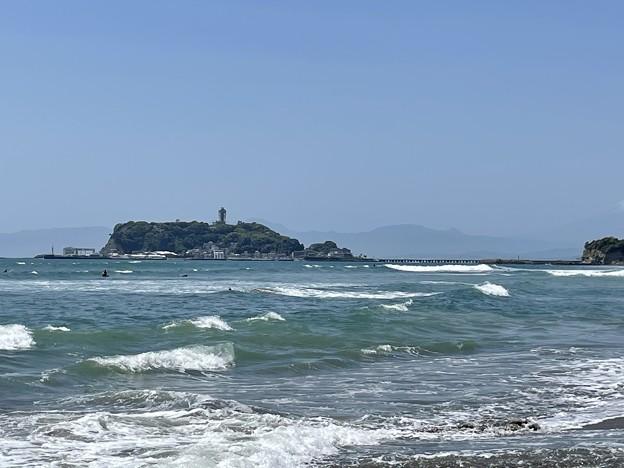 七里ヶ浜海岸(鎌倉市)