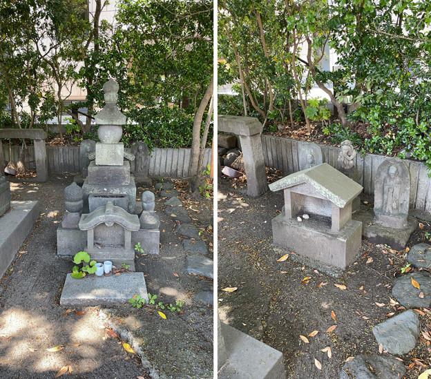 畠山重保邸阯 ・五輪塔(鎌倉市)