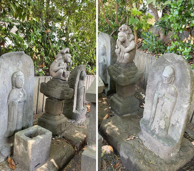 畠山重保邸阯 ・石仏・石造物(鎌倉市)