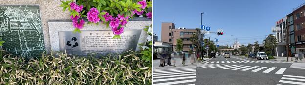 若宮大路 駒留跡(鎌倉市)