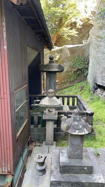 英勝寺(鎌倉市)祠堂裏 英勝院墓