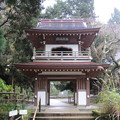 浄智寺(鎌倉市)山門(鐘楼門)